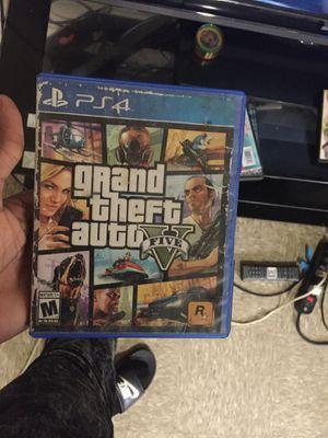 GTA 5 PS4 for Sale in Norfolk, VA