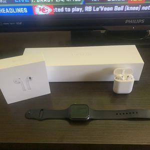 Apple Watch 4 + Airpods for Sale in Greensburg, PA