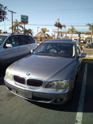 2006 Bmw 750i for Sale in Vista, CA