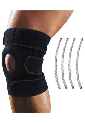 Knee Brace, Oliomp Relieves ACL, LCL, MCL, Meniscus Tear, Arthritis, Tendonitis Pain. Open Patella Dual Stabilizers Non Slip Comfort Neoprene. Adjust for Sale in Rosemead, CA