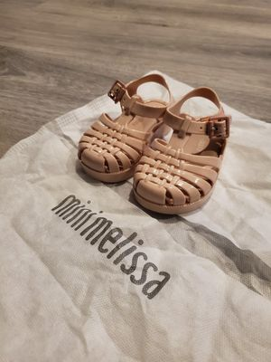 Mini Melissa Baby Sandles_Baby Pink_size 5 for Sale in Winter Garden, FL