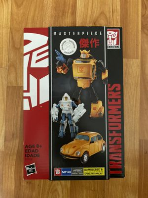 Hasbro Transformers Bumblebee Masterpiece MP-08 Figure Toys R Us exclusive for Sale in Anaheim, CA