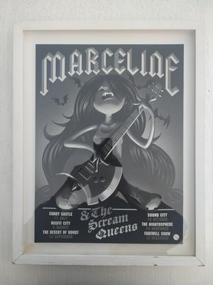 'Marceline & The Scream Queens' (Adventure Time) Collectable Poster for Sale in Rowland Heights, CA