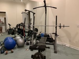 Nautilus complete workout set for Sale in Pompano Beach, FL