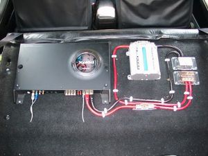 Sony car amp 1200 watts only amp $40firm for Sale in Dallas, TX
