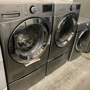 New LG Washer And Gas Dryer for Sale in Orange, CA