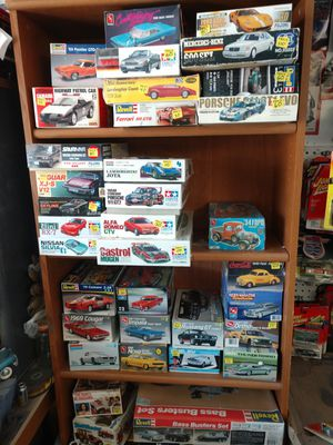 Model kits model cars revell fujimi and more for Sale in Las Vegas, NV