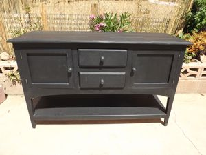 Buffet Sideboard Server Cabinet Wood for Sale in Homeland, CA