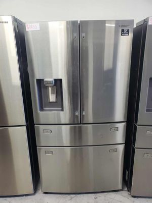 Samsung Fridge 4-Door, French Door with Twin Cooling Plus Same day or next day delivery available for Sale in Cypress, CA