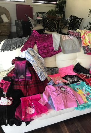 60+ baby clothes bundle size 1t 2t 3t gap Ralph Lauren hello kitty adidas for Sale in Long Beach, CA