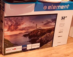 32 INCH SMART TV ELEMENT NEW IN BOX OBO for Sale in Wenatchee, WA