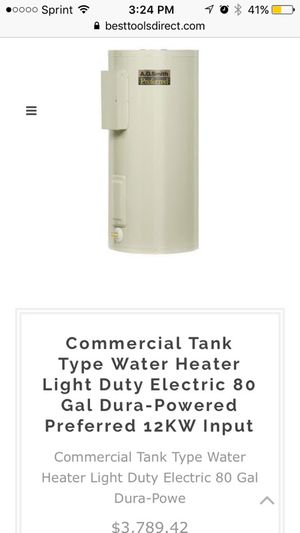 Commercial Water Heater Tank Brand New for Sale in Denver, CO