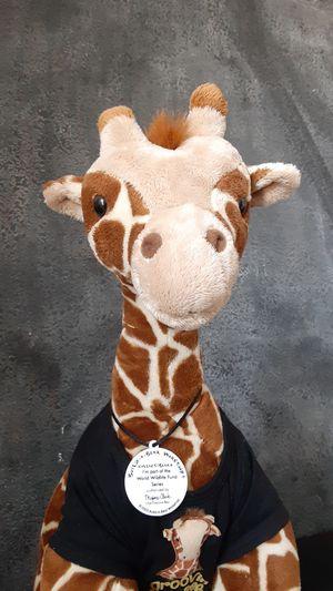 "Build a Bear WWF,""World Wildlife Fund Giraffe."" Stuffed Plush Animal for Sale in Las Vegas, NV"