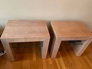 Mango Wood End Tables for Sale in Boston, MA