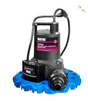 Wayne 1/4 HP Auto On/Off Pool Cover Water Removal Pump for Sale in Miami, FL