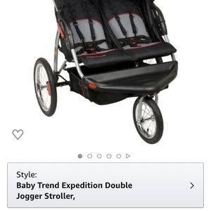 Expedition double Jogging stroller for Sale in Lumberton, NJ