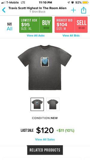 Travis Scott Highest In The Room Alien T Shirt for Sale in Alexandria, VA