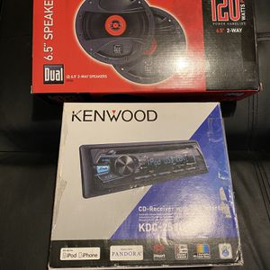 Kenwood Stereo 2020 with Speakers for Sale in San Leandro, CA