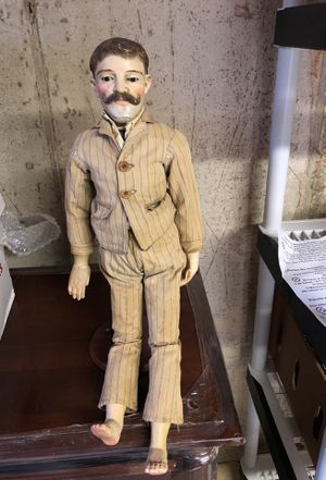Antique Doll Puppet mid 1800s came from museum in cape cod for Sale in Langhorne, PA