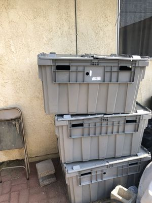 Totes (storage containers) for Sale in Banning, CA