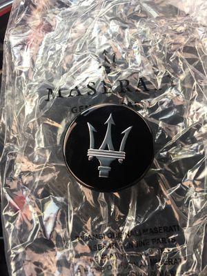Maserati glossy black rim cap for Sale in West Palm Beach, FL