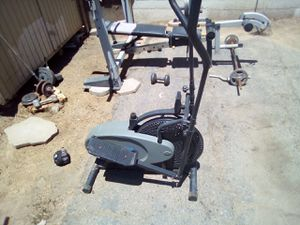 Gold's gym Olympic wieght set for Sale in Fresno, CA