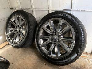 "2018 Chevrolet Tahoe LTZ 22"" OEM Wheels w/ Pirelli Scorpion Tires for Sale in Austin, TX"