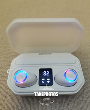 (B8)True Wireless Bluetooth 5.0 Earphones Touch Control Headphones Earbuds Headset for Sale in Brea, CA