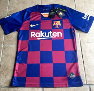 FC Barcelona Jersey S M L XL XXL for Sale in Los Angeles, CA