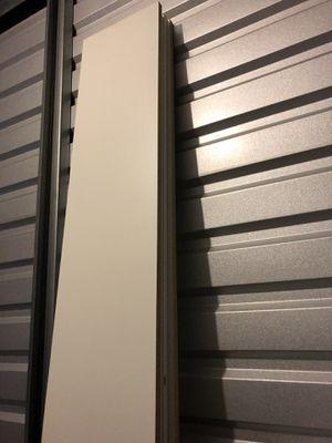 8 ft white shelves for Sale in Greenville, SC