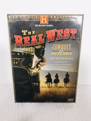 """The History Channel """"The Real West"""" DVD Set for Sale in Pawtucket, RI"""