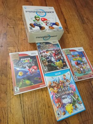 New Games Nintendo wii and wii u all new all for single price $80 all or each different for Sale in Elizabeth, NJ