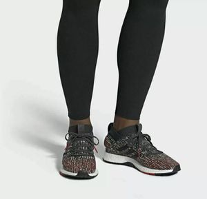 Adidas PureBoost RBL F35781 Black And Red Size 12 Boost Running Shoes New without box for Sale in French Creek, WV