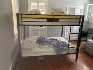 Acne furniture queen size bunk bed for Sale in Charleston, SC