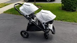 Baby Jogger Silver City Select Double Stroller for Sale in Schaumburg, IL