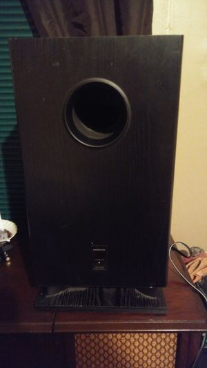 Onkyo SKW 200 SUBWOOFER for Sale in South Hill, VA