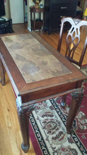 Office desk with matching chair for Sale in Fairfax, VA