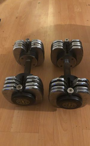 Gold's gym weights for Sale in El Monte, CA