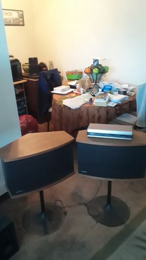 Bose 901speakers /equalizer for Sale in Temple Hills, MD