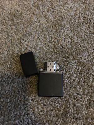 Matte black zippo lighter for Sale in Chandler, AZ