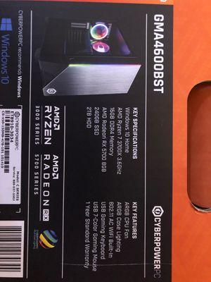 AMD Ryzen 3700x for Sale in Castro Valley, CA