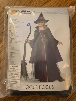 Girls Hocus Pocus Witch Halloween Costume for Sale in Berwyn, IL