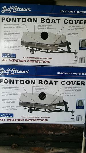 Pontoon boat cover for Sale in Grand Prairie, TX