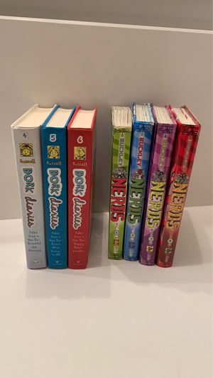 """""""Dork Diaries"""" and """"Nerds"""" book Series for Sale in Miami, FL"""