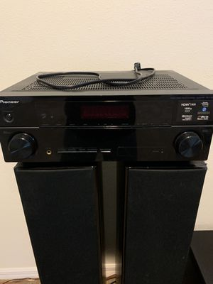 Pioneer stereo with Klipsch speakers and Klipsh subwoofer for Sale in Davenport, FL
