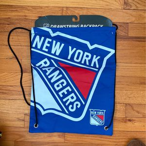 NY Rangers Drawstring Backpack Brand New for Sale in Massapequa, NY