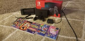 Nintendo Switch (Gently used) and 5 games for Sale in Las Vegas, NV