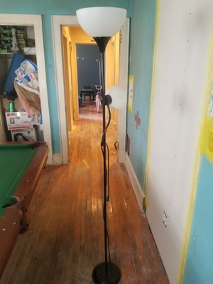 Double standing lamp for Sale in Greenville, SC
