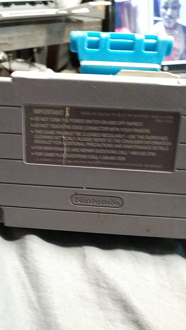 Super Nintendo SNES final fight read description