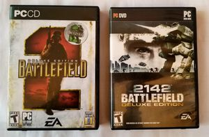 2 Deluxe Battlefield PC Games for Sale in Olympia, WA
